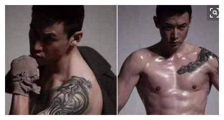 明星们的纹身:陆毅为老婆,陈伟霆为工作,而她是为了遮挡伤疤