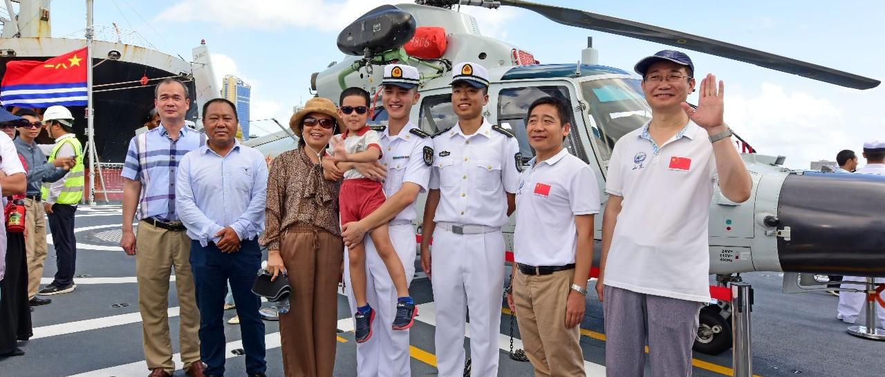 【快讯】第三十三批护航编队潍坊舰技术停靠坦桑尼亚