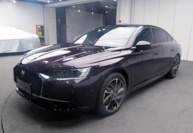 全新DS9实车实拍照,新车将于广州车展正式上市!