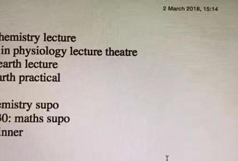 看了清华学生的计划表,不得不承认,人家考上名校是有道理的
