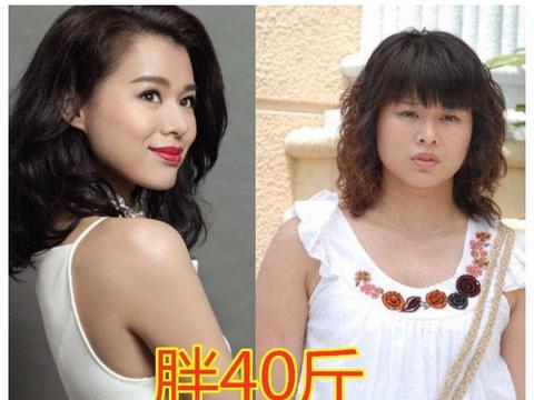 为拍戏而增肥的女明星,她增重60斤不算啥,唐嫣一个角色胖了80斤