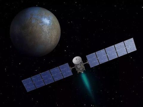 """研究""""黎明号""""的新数据,谷神星上4000米高的独特大山"""