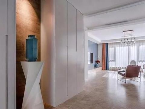 晒190㎡大宅,一进门就被迷住!客厅太漂亮了!最满意定制的柜子