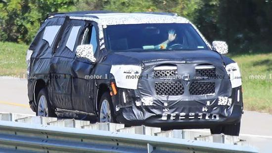 采用承载式车身 全新一代凯雷德12月发布