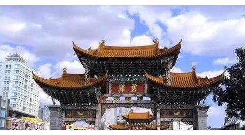 昆明周边游:圆通寺,金马坊和碧鸡坊,云南师范大学,云南大学