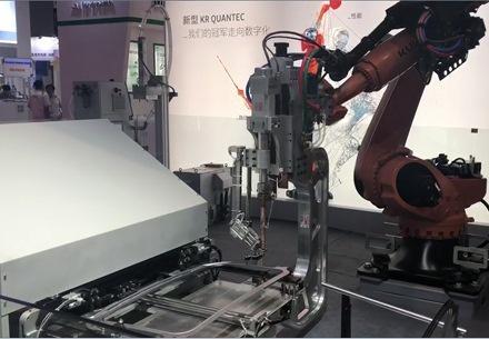 兰盈解决方案亮相2019年第21届中国国际工业博览会