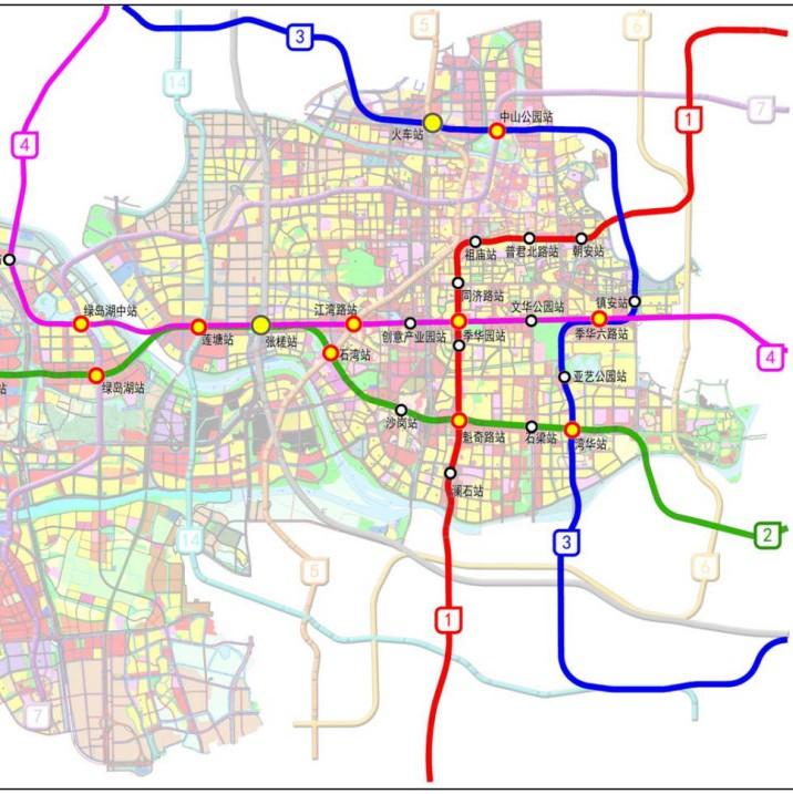 最新消息!佛山地铁4号线一期拟在禅城设9个站点