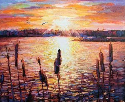 美国画家Leon Devenice作品