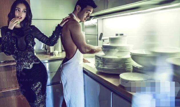 黄晓明和杨颖有多狂野?看看他们的结婚照,网友:只有他们敢拍