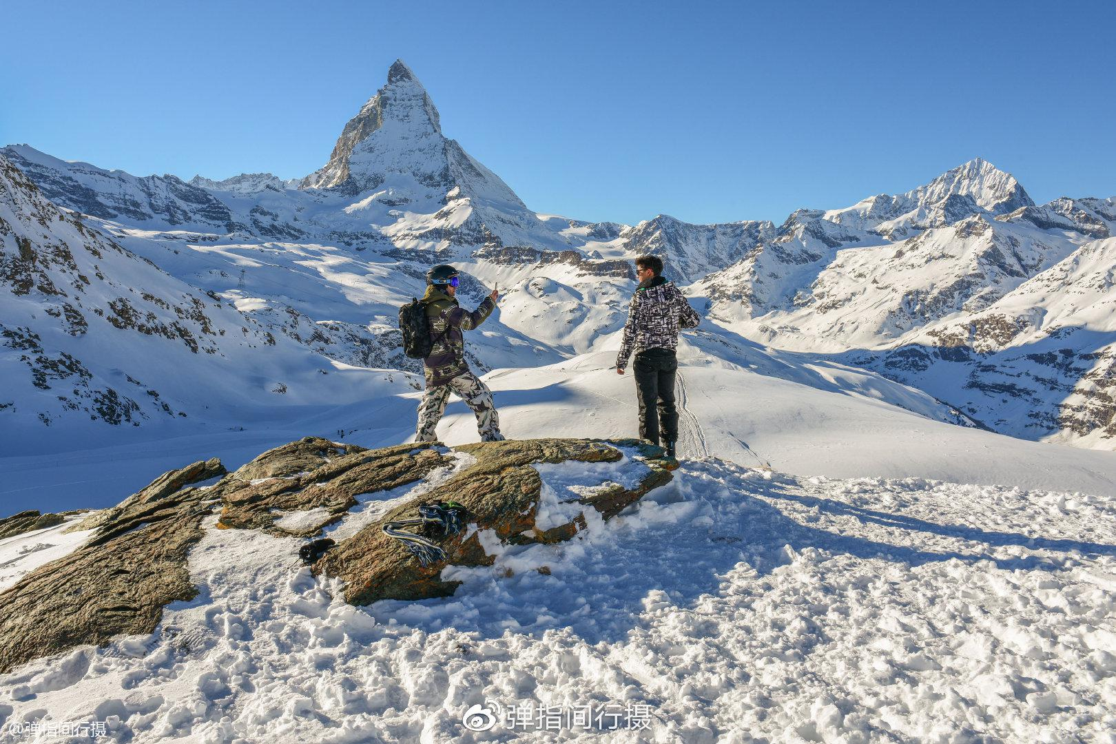 """瑞士最美雪山""""欧"""