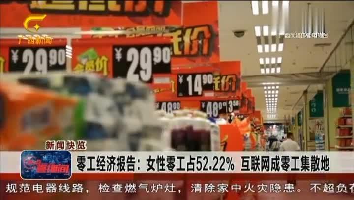 零工经济报告:女性零工占52.22% 互联网成零工集散地