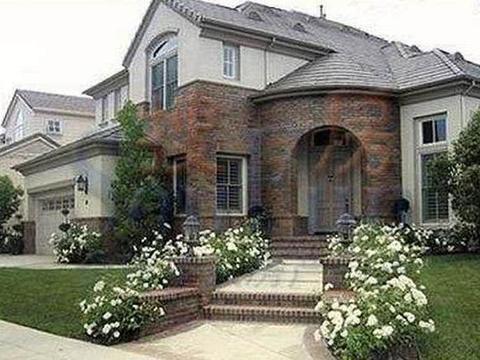 带你参观林志颖的豪宅,一家人住独栋欧式别墅,门口还有超大花园