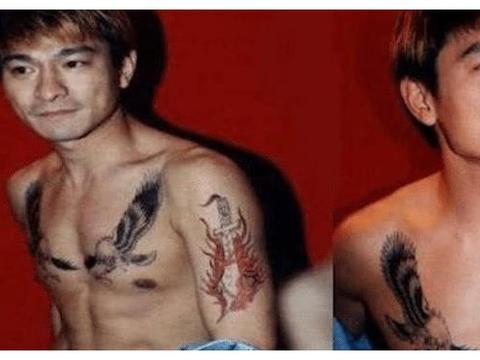 胡歌为父母纹身,谢霆锋为王菲纹身,看到包贝尔的笑出鹅叫