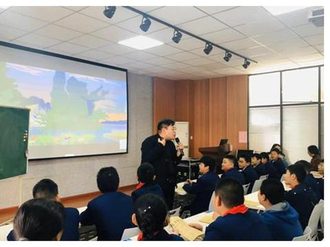小学英语教师国培班走进惠济区实验小学观摩研讨