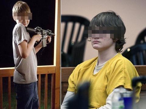 14岁少年朝爸后脑连开3枪!屠杀前亲吻宠物兔 发狂扫射小学操场