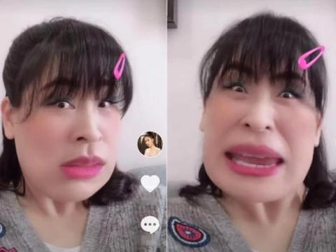 马苏晒视频自黑疑似回应李小璐:我不信你对我没想法,网友:开撕