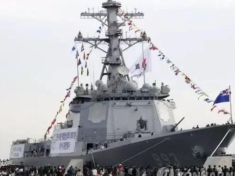 韩国新大驱配备128单元垂发,超过了055舰