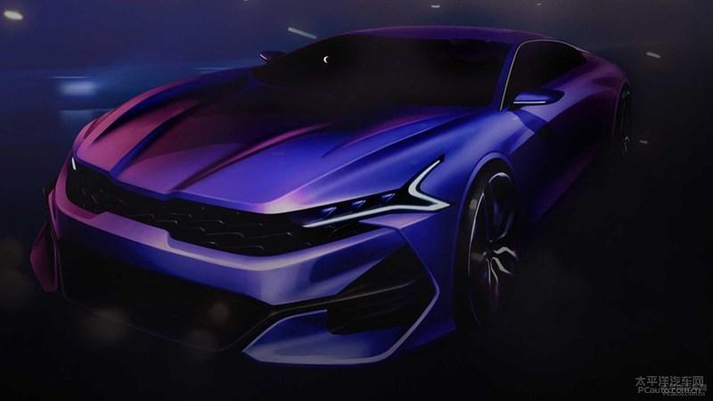 起亚神秘车型洛杉矶车展首发 全新K5?
