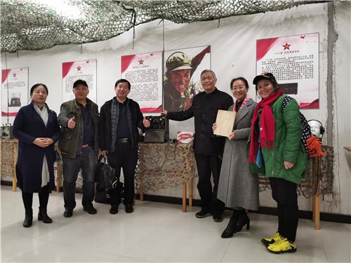 军品大王李长东受邀走进大兴区委党校参观学习