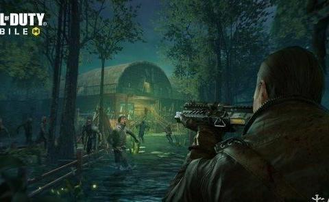 《使命召唤手游》僵尸模式新地图来了 激战死亡沼泽