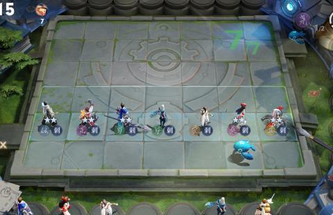 王者荣耀,王者模拟战,得到四个稷下英雄可以翻盘
