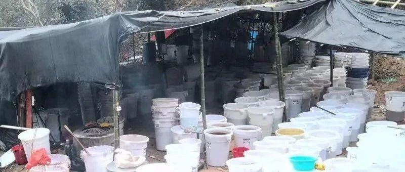 7省警方联合出动 赣州一毒窝被缴毒400公斤(组图)