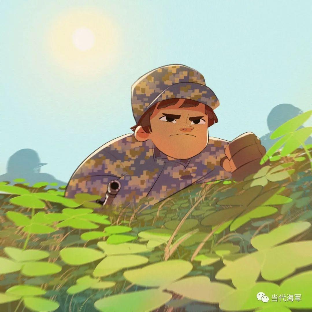 【画说强军⑦】这组关于海军小姐姐的漫画,太真实了