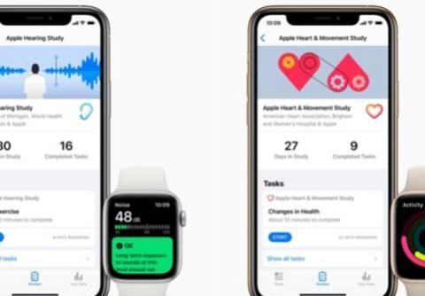 苹果与多家健康机构合作 推出致力于健康研究的新应用