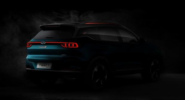 全新一代瑞虎7预告图发布 将于广州车展首次亮相 最早年内上市