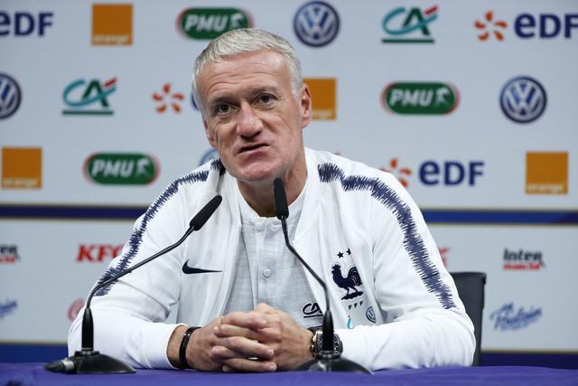 RMC:法国足协有意与德尚续约至2022年