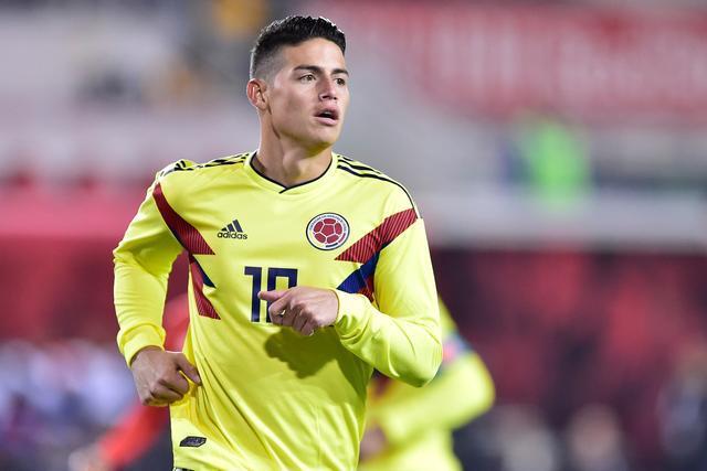 西媒:训练中左膝受伤 J罗将无法出战哥伦比亚比赛