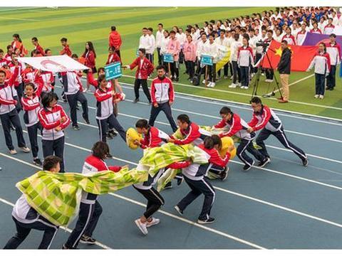 曲靖市第一中学举行2019年体育节开幕式