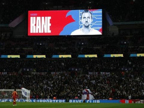欧预赛英格兰7:0黑山,哈里凯恩创温布利历史:盼陆续有来