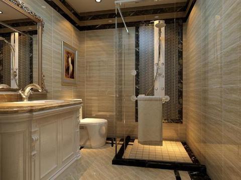 卫生间装修:一定要注意6处细节设计,才能用起来舒适又安全