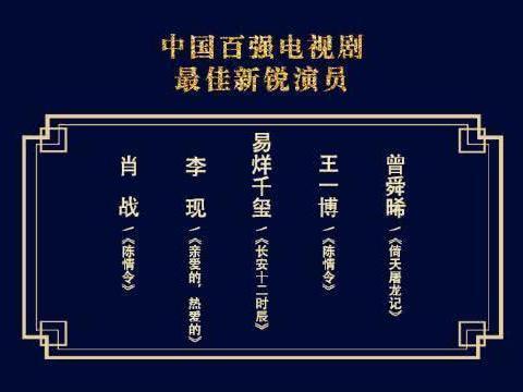 华鼎奖最佳新锐演员竞争大,肖战王一博李现千玺,你支持谁?