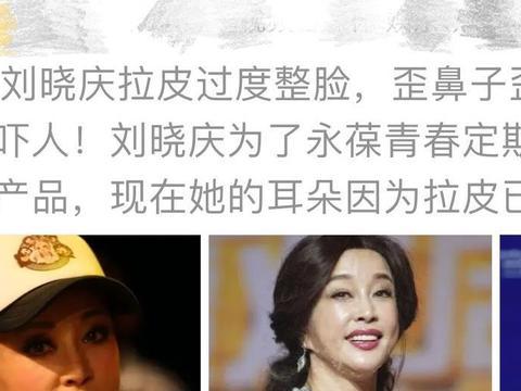 """自媒体人曝刘晓庆""""丑照"""",力证她曾经""""整容"""",反遭到网友怒怼"""