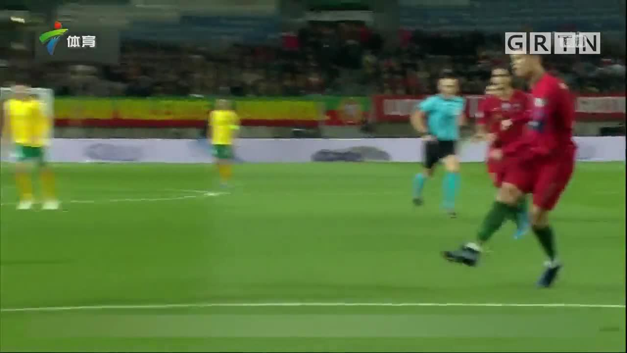 C罗上演帽子戏法 葡萄牙大胜立陶宛