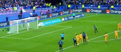 GIF:迪涅造点吉鲁主罚命中,法国逆转摩尔多瓦