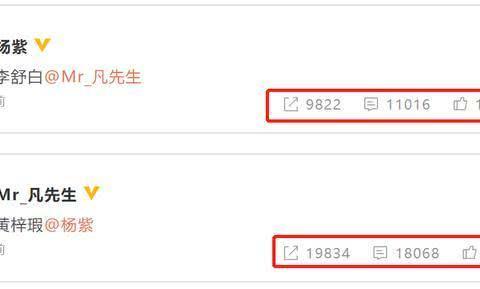 《青簪行》官宣:杨紫和吴亦凡主演!从微博互动量看谁是一番