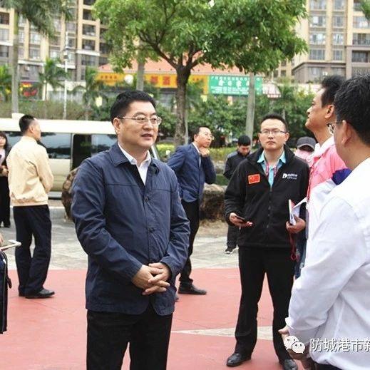 防城港市举行2019中国—东盟国际马拉松赛预演