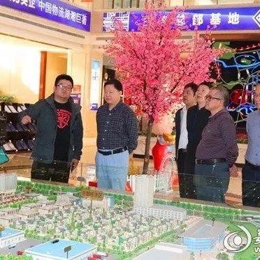 娄底市政协调研娄星工业集中区项目建设情况