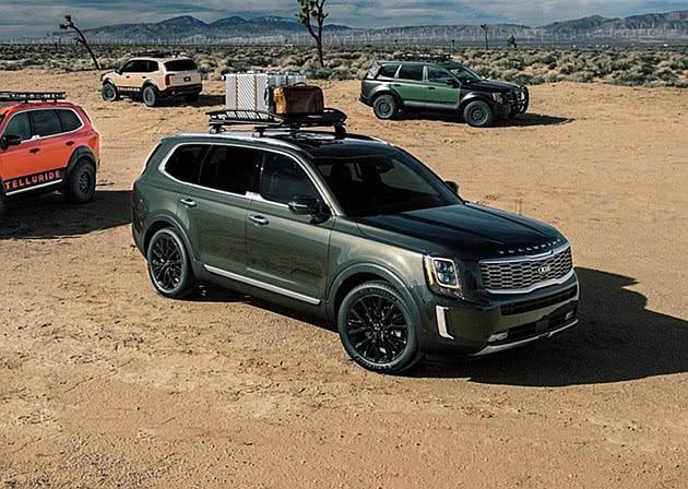 起亚最强SUV,车长5米配3.8L自吸,汉兰达在它面前是弟弟