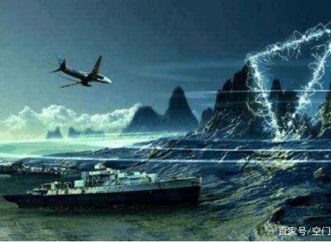 """科学家首次发现""""六角形""""云层,盘旋在百慕大上空,威力堪比黑洞"""
