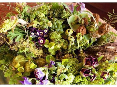 这个圣诞节与Francoise Weeks一起感受森林风格空间花艺设计吧