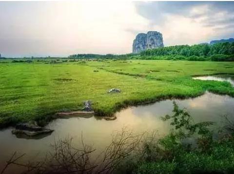 国庆广西周边游:龙女沟,更望湖,赏毛塘湿地,不孤村