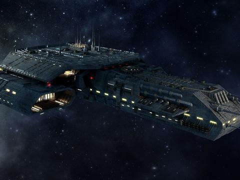 这不就是先进的太空飞船吗?在这部史诗中,飞船曾经多次出现