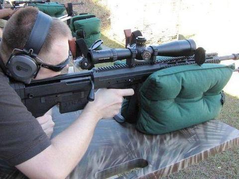 高手在民间:美军侦察兵专用狙击步枪,枪迷耗时三年设计而成