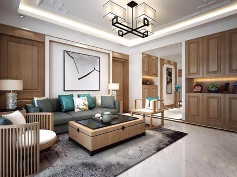 面积160平米的房子好不好?中式风格装修案例!买房子就这么装