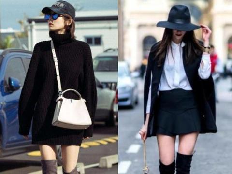 女人个子矮,冬天穿搭学会3个技巧,帮你扬长避短,轻松显高挑!