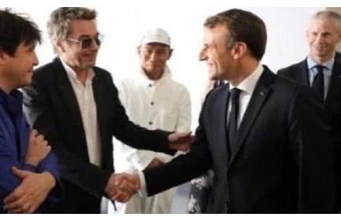 巩俐受邀坐法国总统专机成国人之光,不P图不美白素颜惊为天人